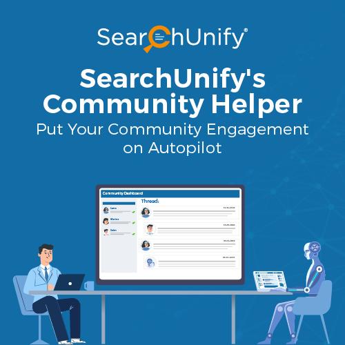 SearchUnify's Community Helper
