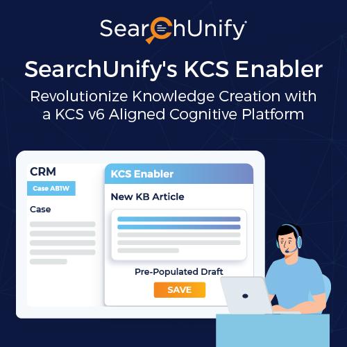SearchUnify's KCS Enabler