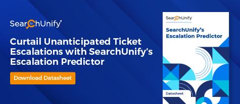 SearchUnify's Escalation Predictor
